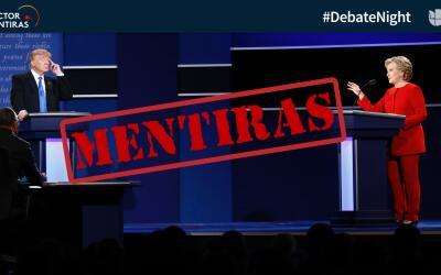 El Detector de Mentiras encontró ocho mentiras y dos afirmaciones...