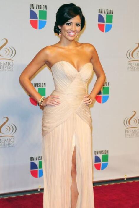 En 2011 Pamela Silva Conde nos deslumbró con este modelo tan 'chic'.