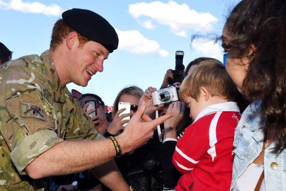 Muchos aseguran que Harry será un gran papá, por la forma en que dedica...