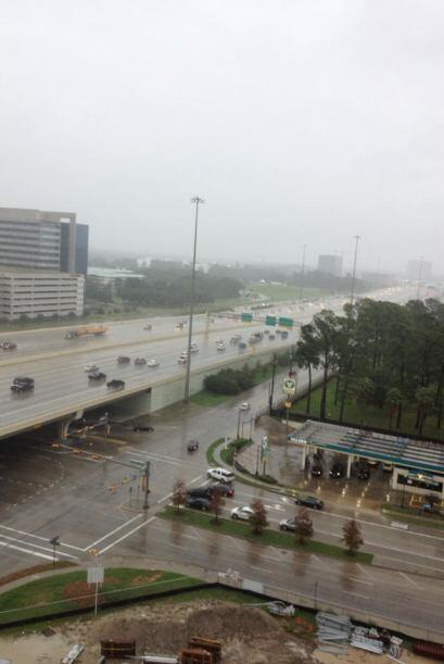 Lluvias e inundaciones en Houston