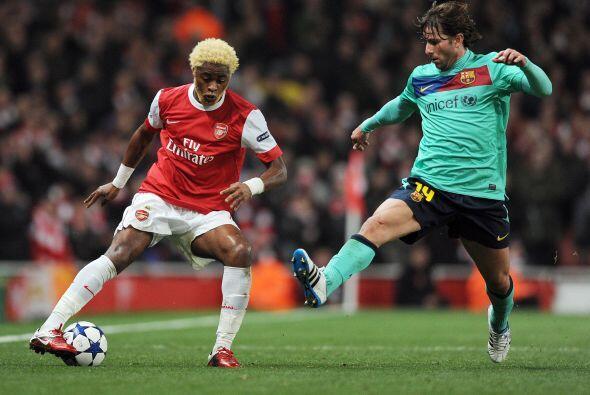 Arsenal parecía apostar a una filosofía de juego distinta a la que le ca...