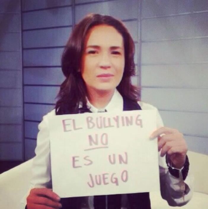 La actriz y conductora mexicana Yolanda Andrade. Foto tomada de Twitter.