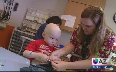 Campaña para la cura del cáncer infantil
