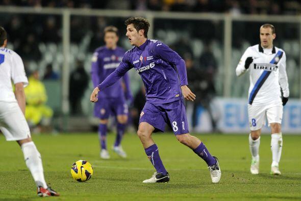 El jugador de la Fiorentina sencillamente la rompió en el duelo ante el...