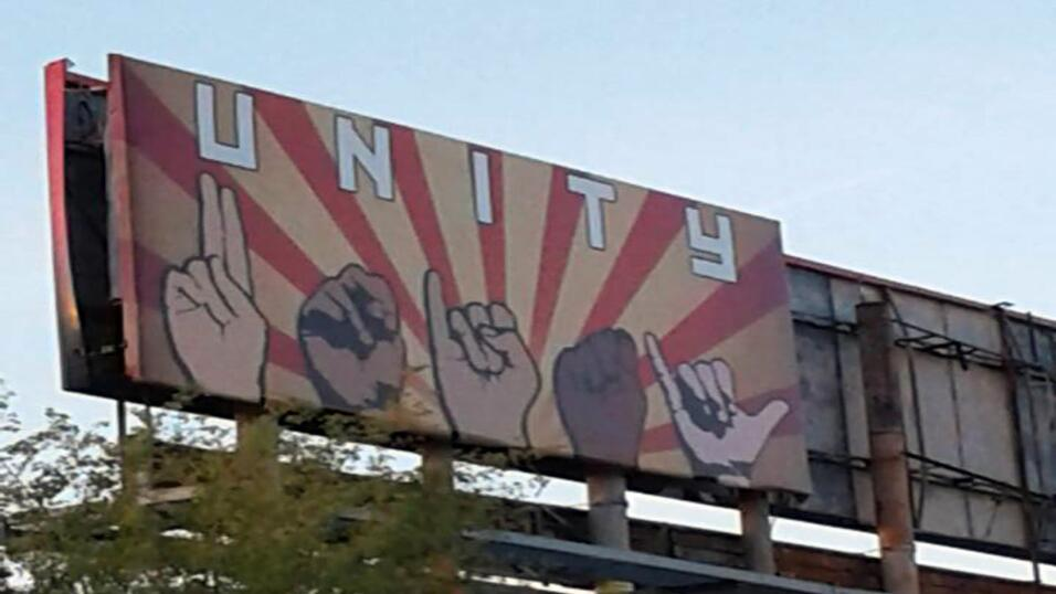 Valla publicitaria en Phoenix, Arizona.