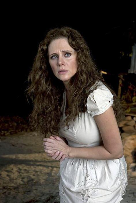 """En 2007 la actriz trabajó en """"Tormenta en el Paraíso""""."""