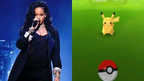 GYF digital: Rihanna le declaró la guerra a 'Pokemon Go'