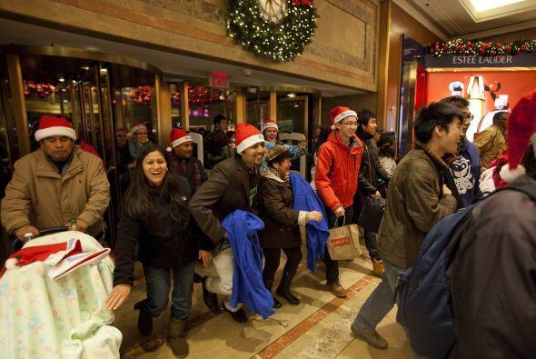 Un aumento en el número de compradores como el que se anticipa este año...