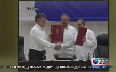 Así se dio el acuerdo entre el gobierno de Colombia y las FARC