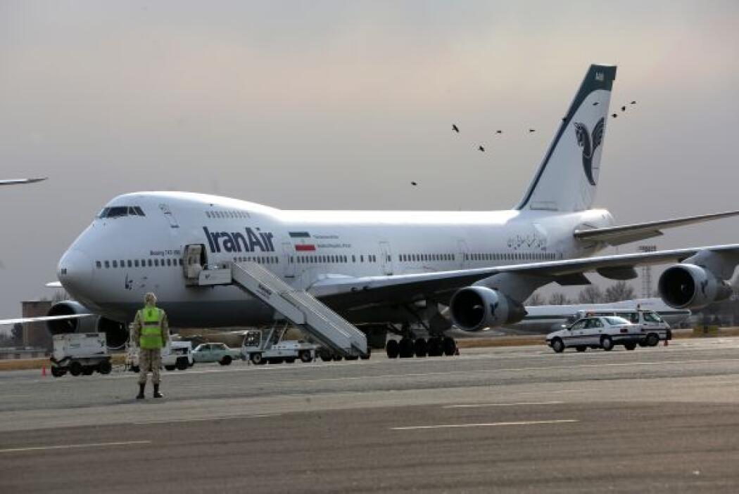 33- 556 personas fallecieron por incidentes con aviones de Iran Air.