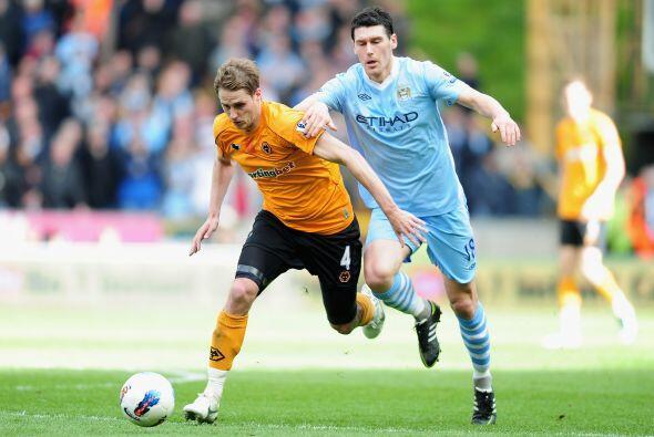 Precisamente el City jugó su partido en campo del Wolverhampton.
