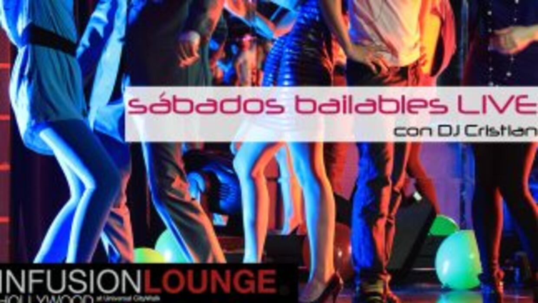 Sabados Bailables en Infusion Lounge