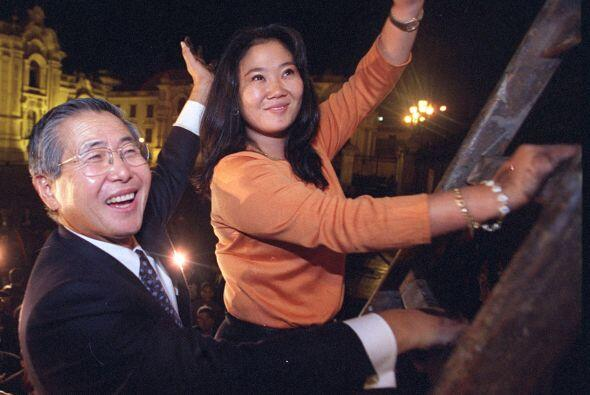 A Keiko Fujimori la persigue el pasado de su padre Alberto Fujimori, qui...