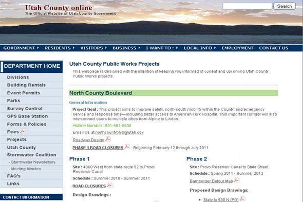 De 2000 a 2010 el empleo creció 47.1% en el condado de Utah, principalme...
