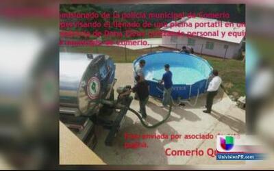 Suspenden a empleado de la policía municipal de Comerío