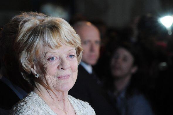 """Maggie Smith, """"Downton Abbey"""" Mira aquí los videos más chismosos."""
