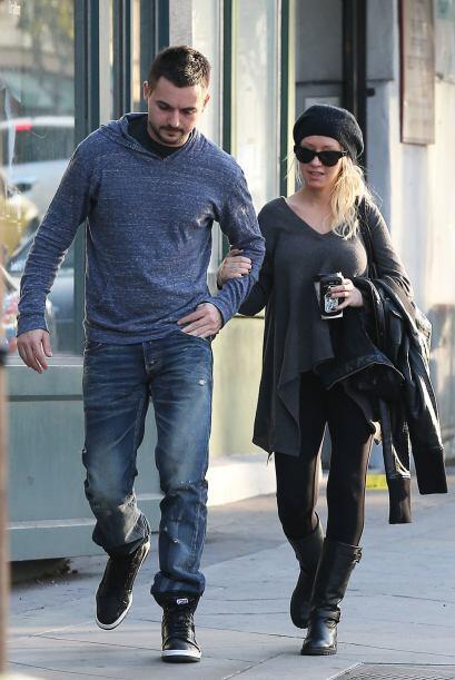 Christina Aguilera fue otra chica que muy a su estilo lució c&oac...