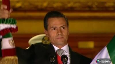 Los mexicanos celebran el Grito de Independencia