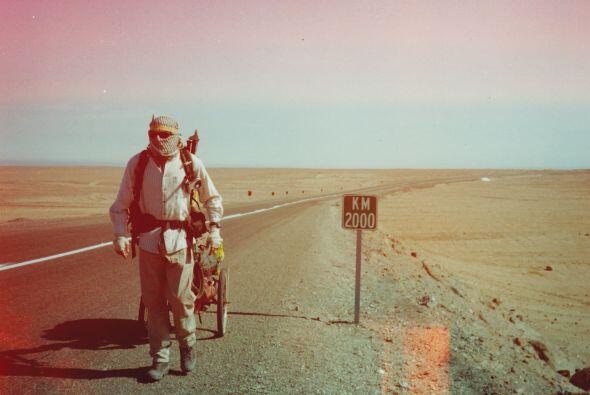 Trece años después de caminar en busca de arribar a Rusia y lograrlo, Ka...