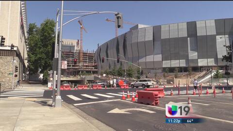 Sacramento se prepara para la inauguración de nueva arena deportiva