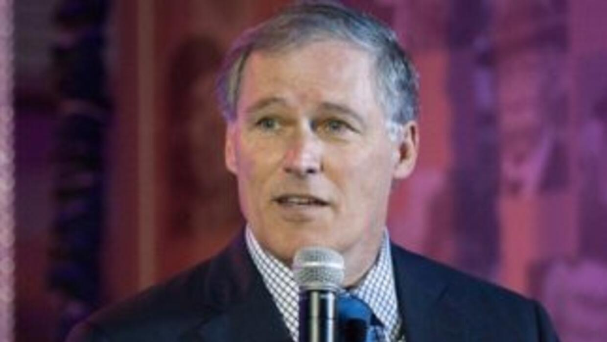 Jay Inslee, gobernador de Washington.