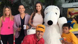 Snoopy y sus amigos en Despierta América