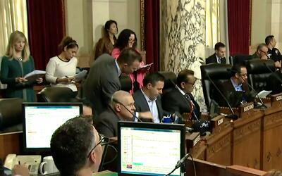 'Los Ángeles en un Minuto': concejo de la ciudad de Los ángeles prohibir...