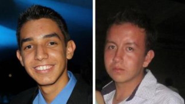 Imagen difundida por las familias de Sergio Alejandro Torres Duarte y Ju...