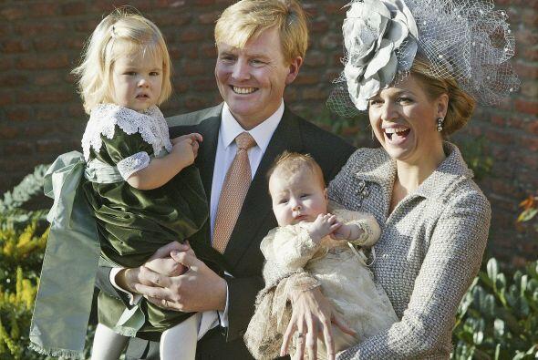 El 19 de noviembre de 2005 fue el bautizo de la segunda hija de los reye...
