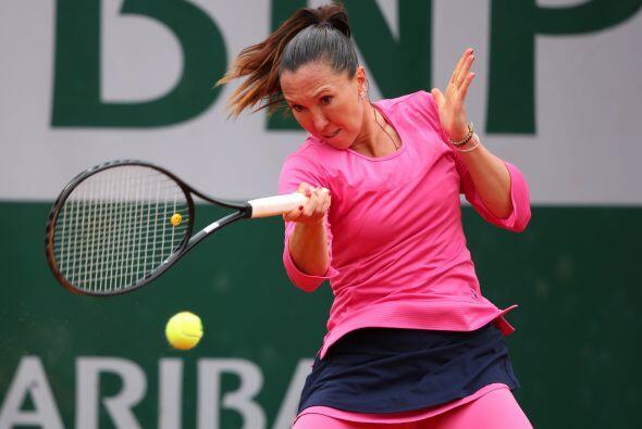 La serbia Ana Jankovic tuvo fácil su acceso a tercera ronda al vencer a...
