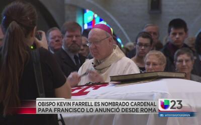 Arzobispo de Dallas es elevado a cardenal