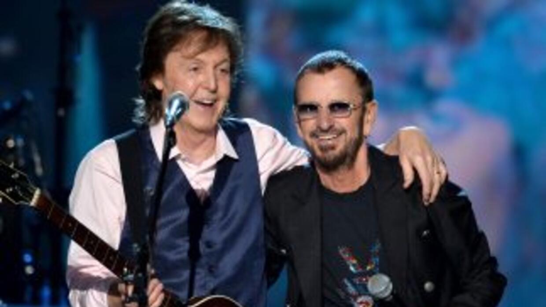 La gala se realizará el próximo 18 de abril. Ringo es el último ex Beatl...