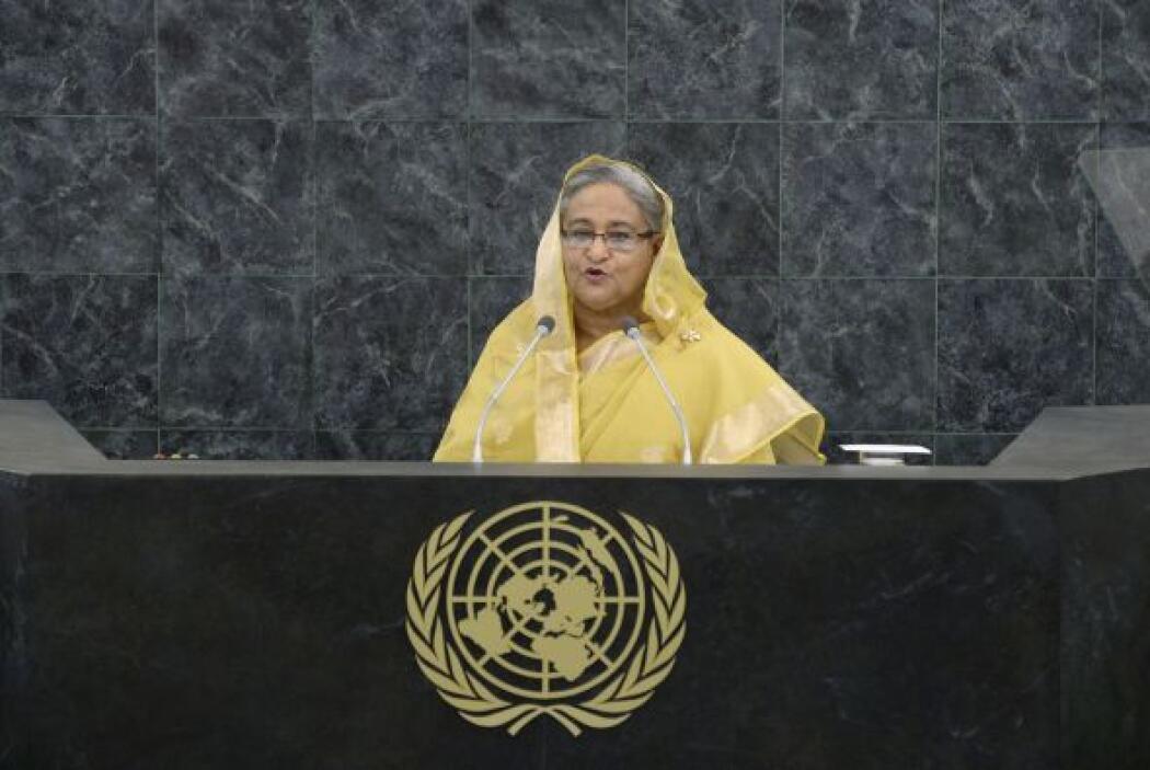 47.- SHEIKH HASINA WAJED: Actual Primer Ministro de Bangladesh. Ella ha...