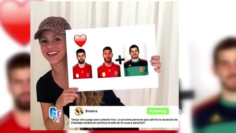 Shakira te dará una sorpresa si te enfrentas a su reto