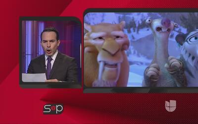 Carlos Calderon sabe imitar a los personajes de 'Ice Age: Collision Course'