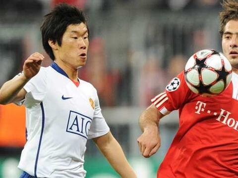 El duelo de ida de los cuartos de final entre Bayern Munich y Manchester...