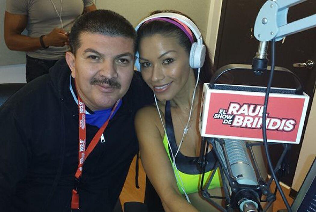 Masiel Arias y Columba Gallegos estuvieron como invitadas en el Show de...
