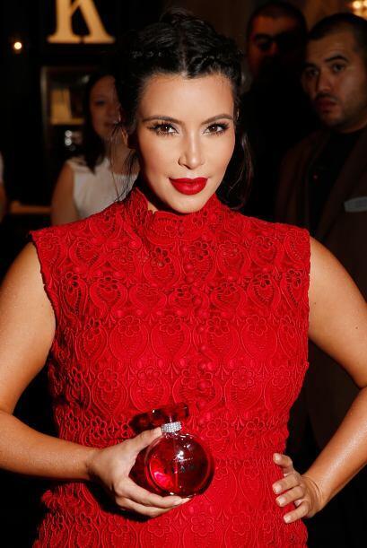 Los perfumes de Kim Kardashian son igual de polifacéticos que la...