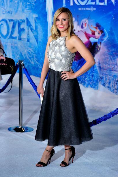 Muy acertada la elección de Kristen Bell, aunque un poco m&aacute...