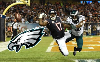 Alshon Jeffery, nuevo receptor de Philadelphia Eagles