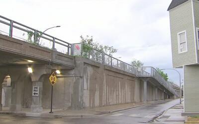 Residentes de zonas aledañas al sendero 606 se manifiestan para que prot...