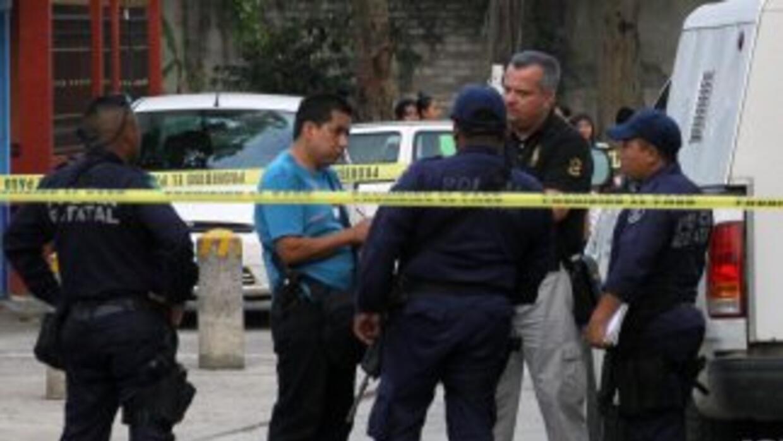 Policías mexicanos.