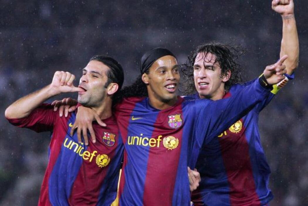 Barcelona ha hecho sufrir al país eliminando al Atlante y al América, a...