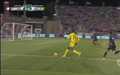 Romario Williams se perdió el primero para Jamaica