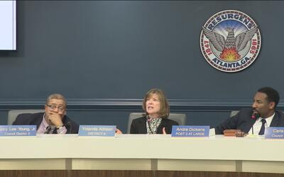 Concejales de la ciudad de Atlanta discuten medidas para control la pobl...