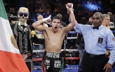 Jessie Vargas venció por decisión unánime a Ray Narh AP_794015692163.jpg