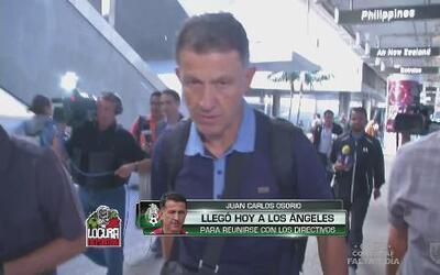 Juan Carlos Osorio está en Los Angeles para ver partido de México