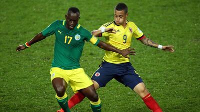 La selección colombiana llegó a cuatro unidades para ser s...