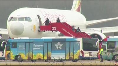 Animación del secuestro del avión etíope