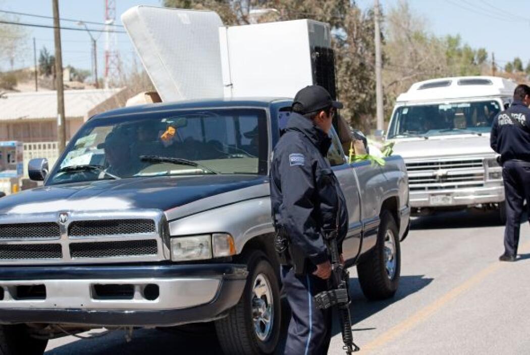 Las fuerzas policiacas del lugar están compuestas por 19 policías munici...